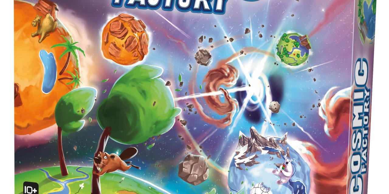 Erratum : Kaosmos devient Cosmic factory (Gigamic)